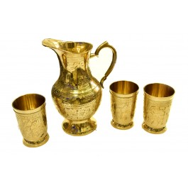 Lemon set brass
