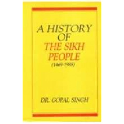 A History of the Sikh People