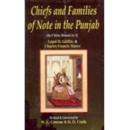 Chiefs & families of note in the punjab