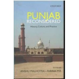 Punjab reconsidered history culture and practice